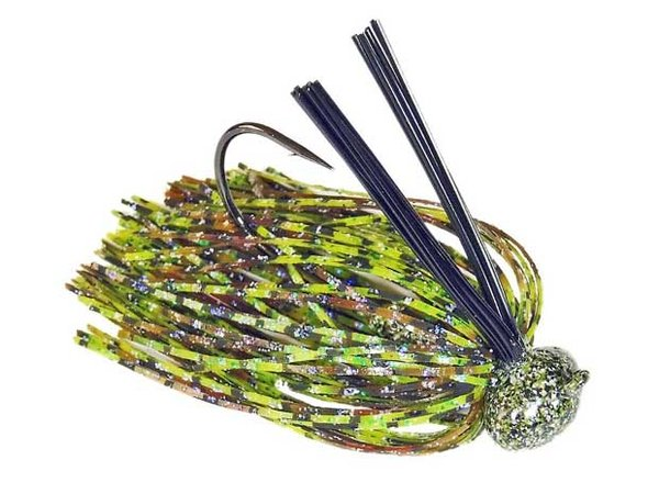 Custom Skirted Weedguard Football Jig